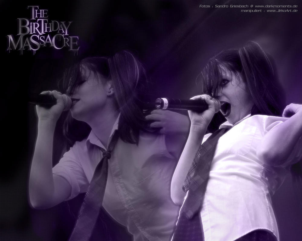 THE BIRTHDAY MASSACRE - Live by JirkoArt