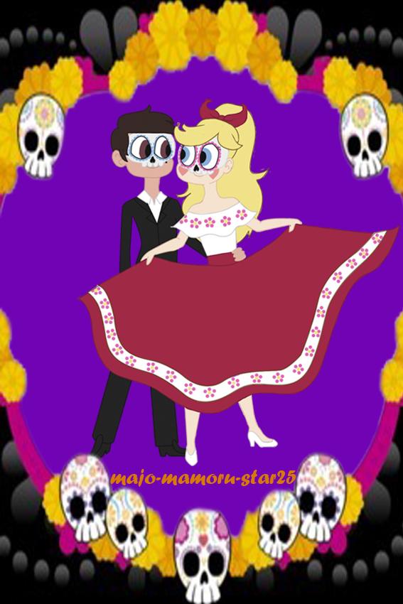 Star y Marco-la pareja de catrines by Majo-mamoru-star25 on DeviantArt