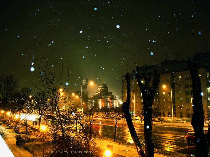 Fotografija dana Snowy_night_by_djn90
