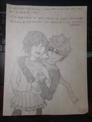 Nishiki and Kimi - Tokyo Ghoul