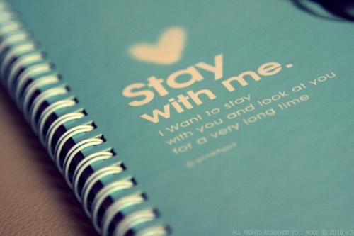 Quédate conmigo