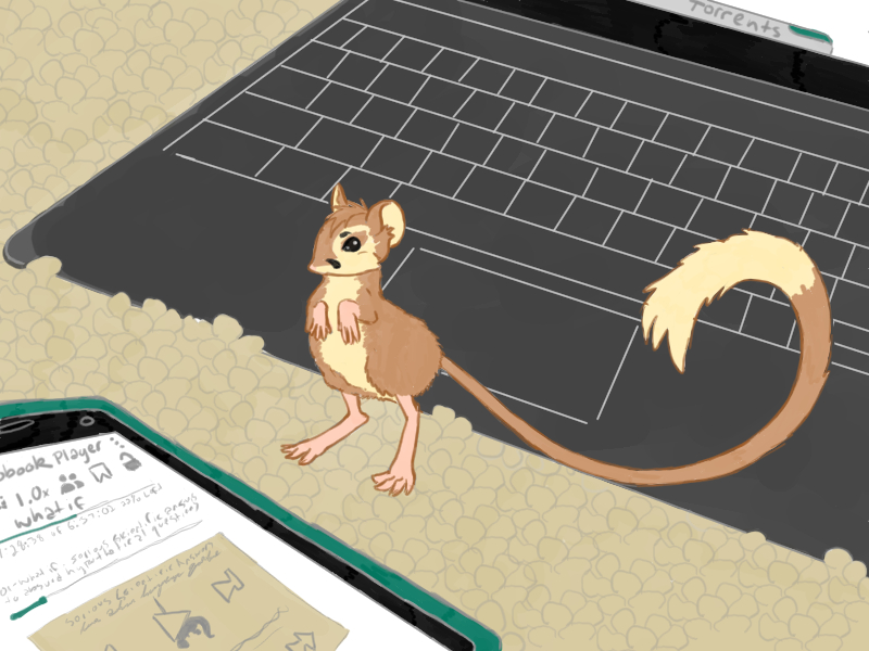 Tiny Torrent Mouse by destructoPop