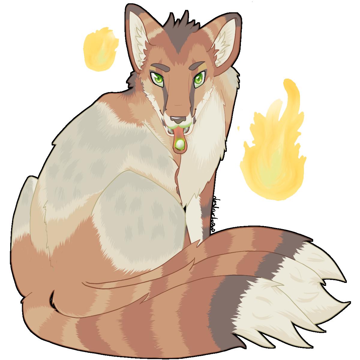 Fox Fire by destructoPop