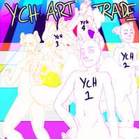 Ruyakon Dance Party YCH Art Trade - OPEN! by destructoPop