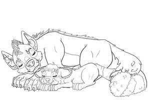 Cuddles by destructoPop