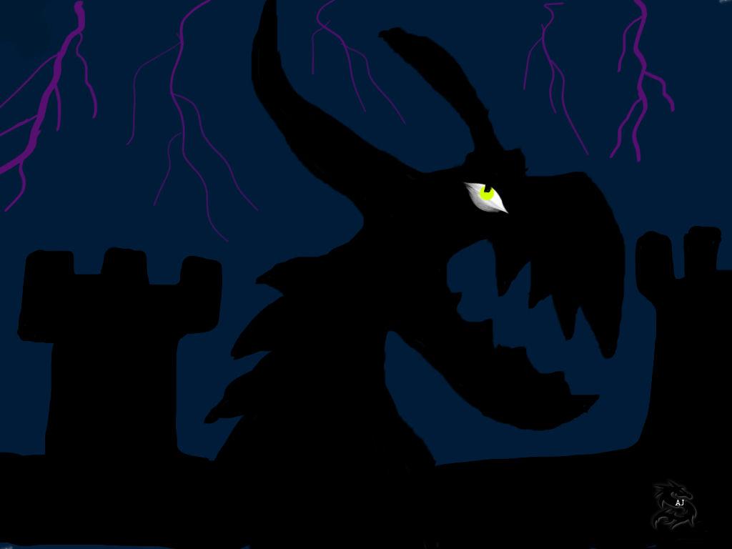 Dragon Version 1 by Drakoneye