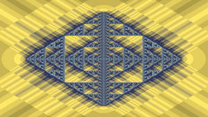 Sierpinksi Yellow Diamond by tobagojo