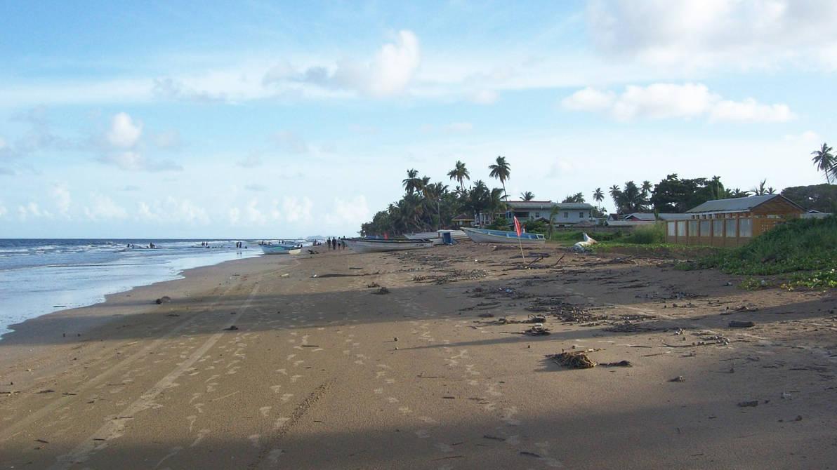 Mayaro beach (View South), Trinidad, TT by tobagojo