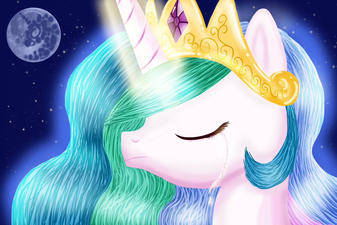 I wish you were here to raise the moon.. by xLilian