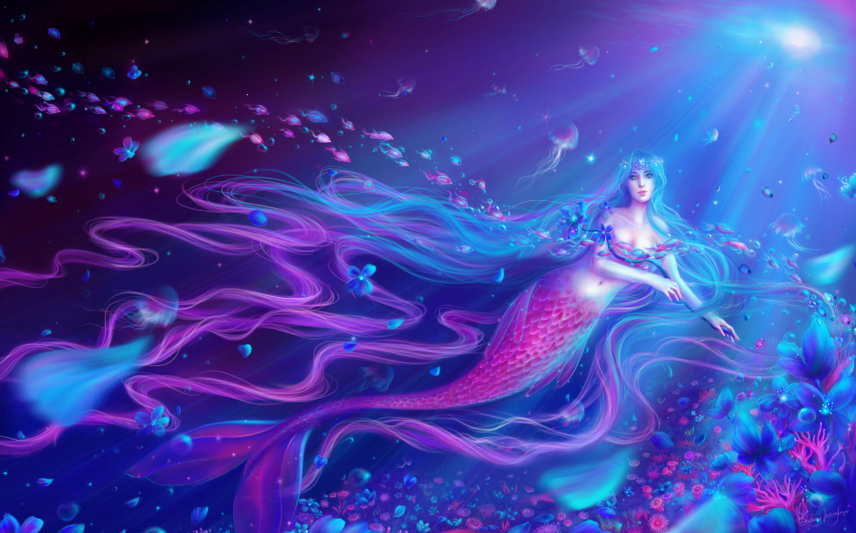Jewel Mermaid by Lunithea