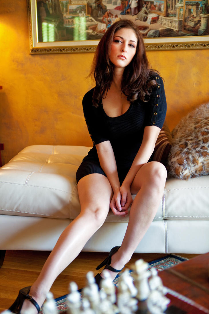 Carlotta in black 01 by DR0ck