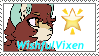 WishfulVixen stamp by KittyFan123