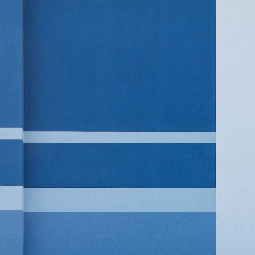 blue line by fotominimalist