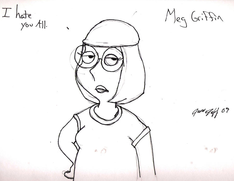 Meg Griffin by Dragon2009