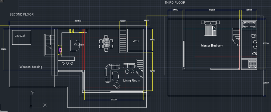 Autocad Home Floor Plans