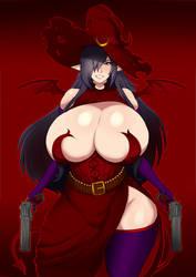 Succubus Gun Witch by Aliessa