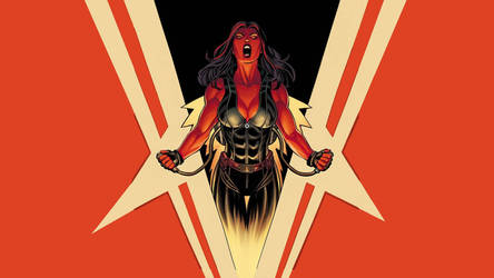 Red She Hulk (Faction Image) by TheAdversaryAlliance