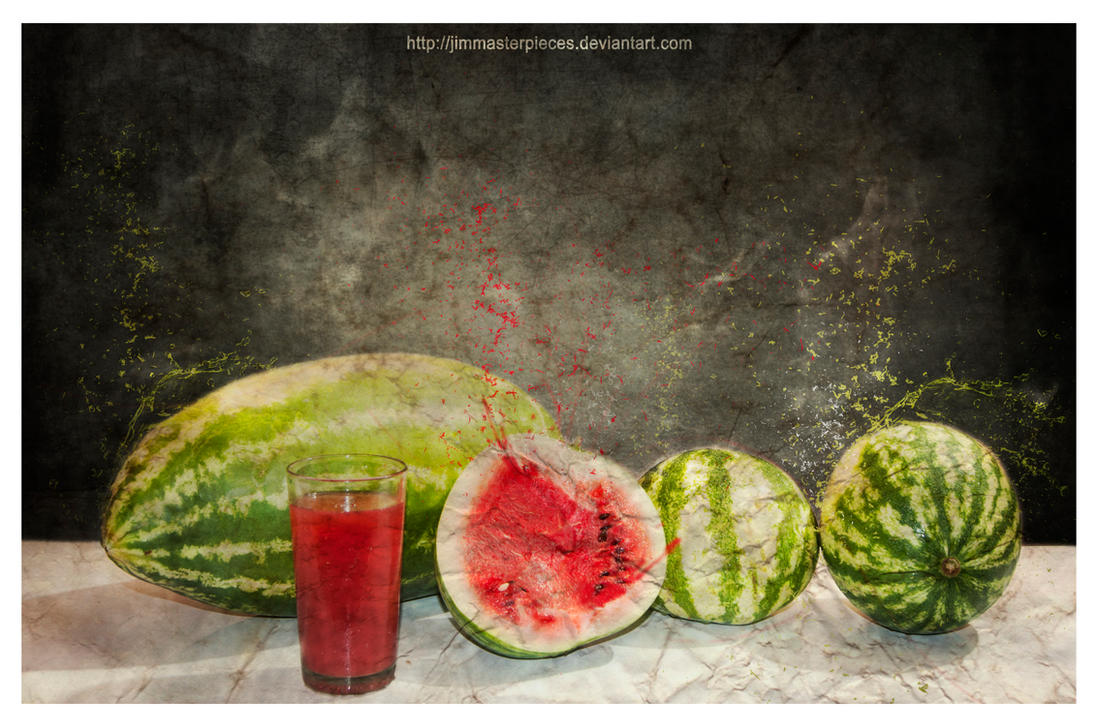watermelon by Jimmasterpieces