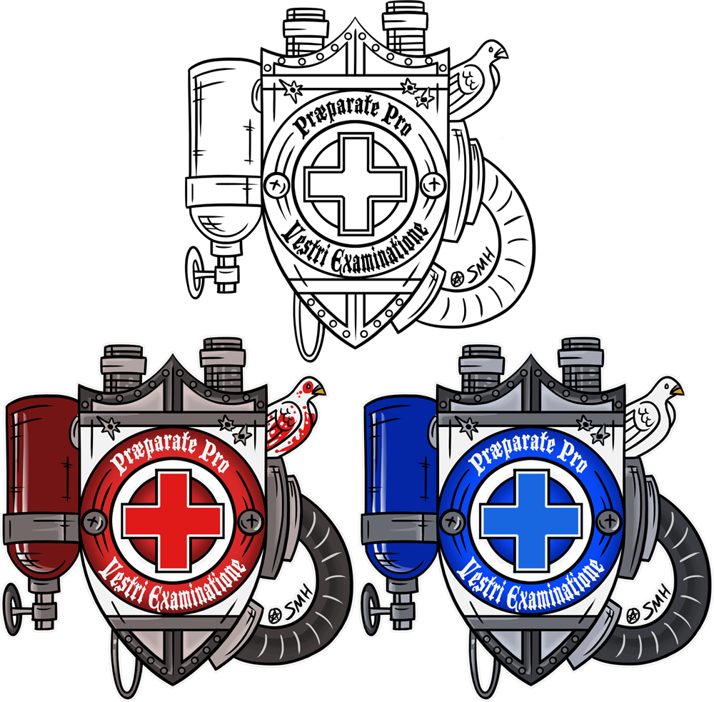 Tf2 Medic Coat of Arms by Bobfleadip