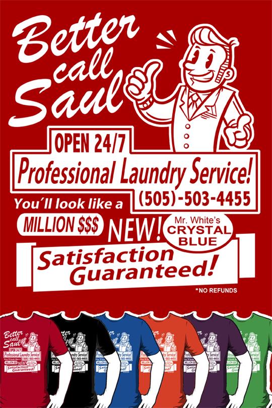 Better Call Saul! SHIRTS by Bobfleadip