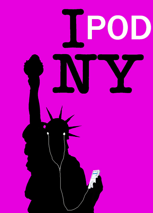 IPod New York by Bobfleadip