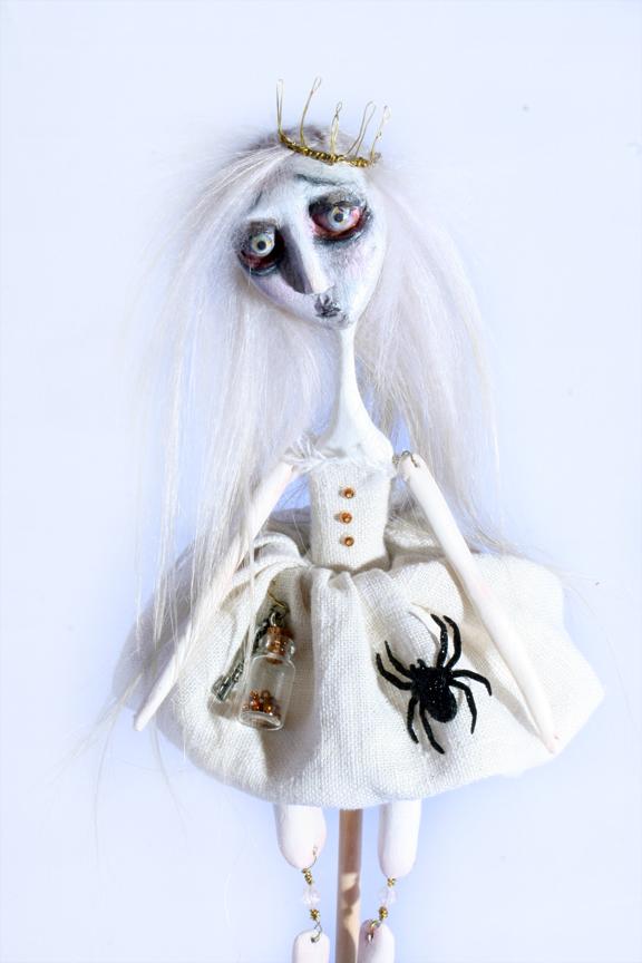 Frankenweenie's Weird Girl Art Doll by themysticasylum