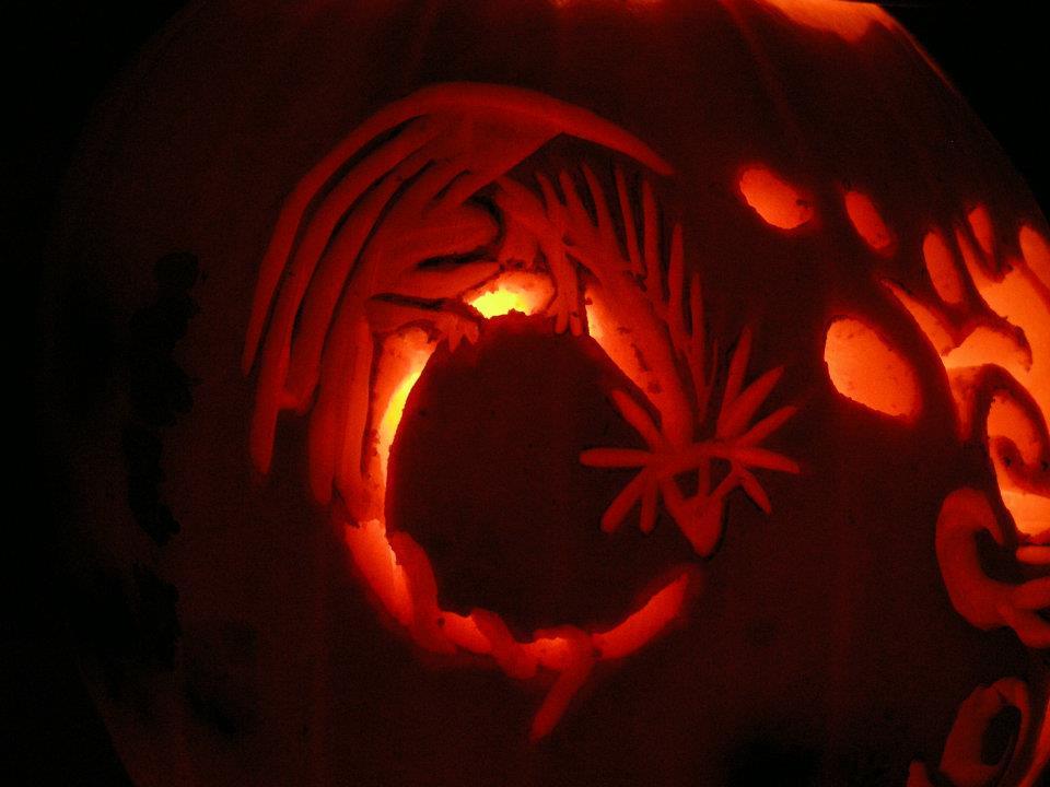 Dragon Pumpkin Carving Dragon Pumpkin Carving by
