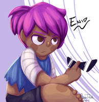 Enid by Serbeee