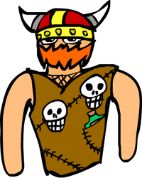 Viking dude guy?? by ve731