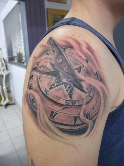 Sundial and Tattoos and body art on Pinterest