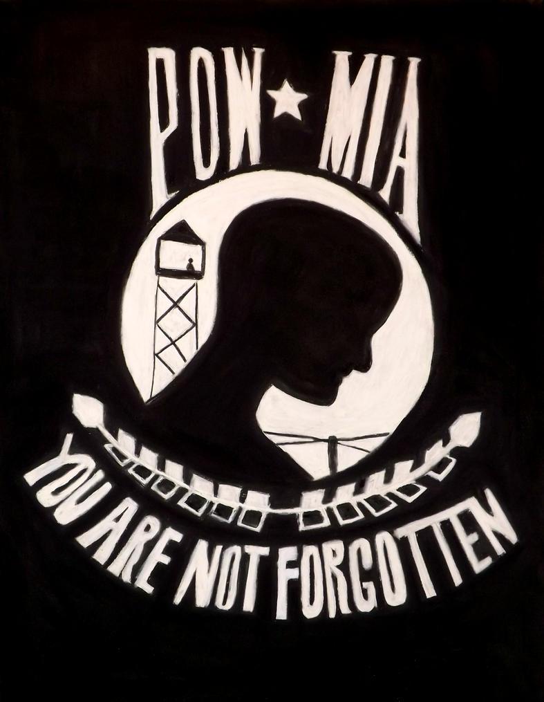 pow mia by TimTindall