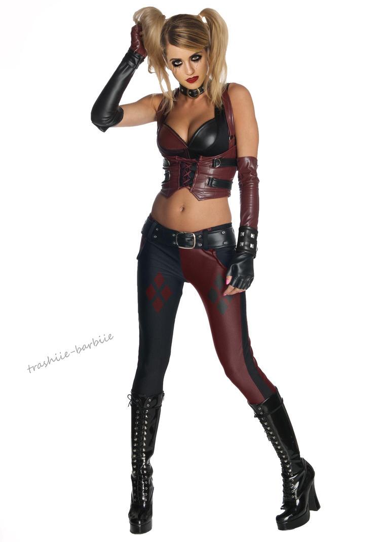 Dianna as Harley Quinn by Trashiie-Barbiie