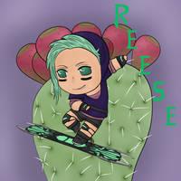 Cactus fruit Reese by ShadowWip