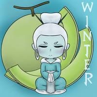 Honey Dew Winter Maiden by ShadowWip