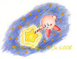 Star Rod Kirby - Water color by JessySketches
