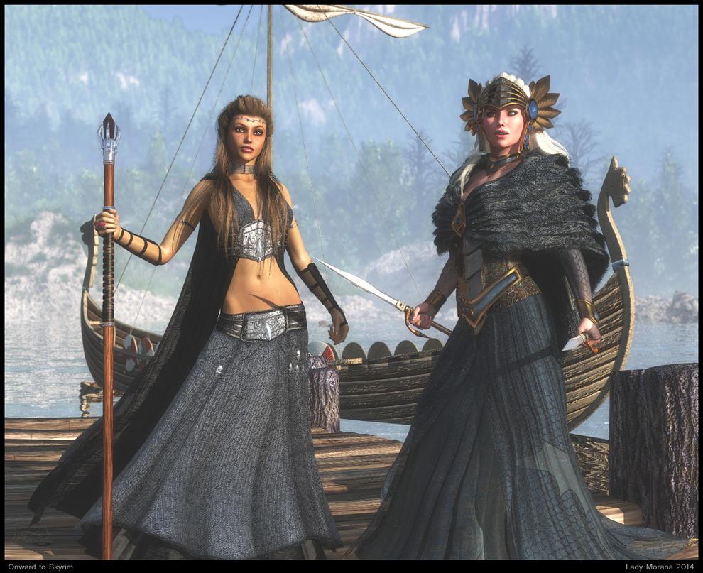 Onward to Skyrim by Lady-Morana