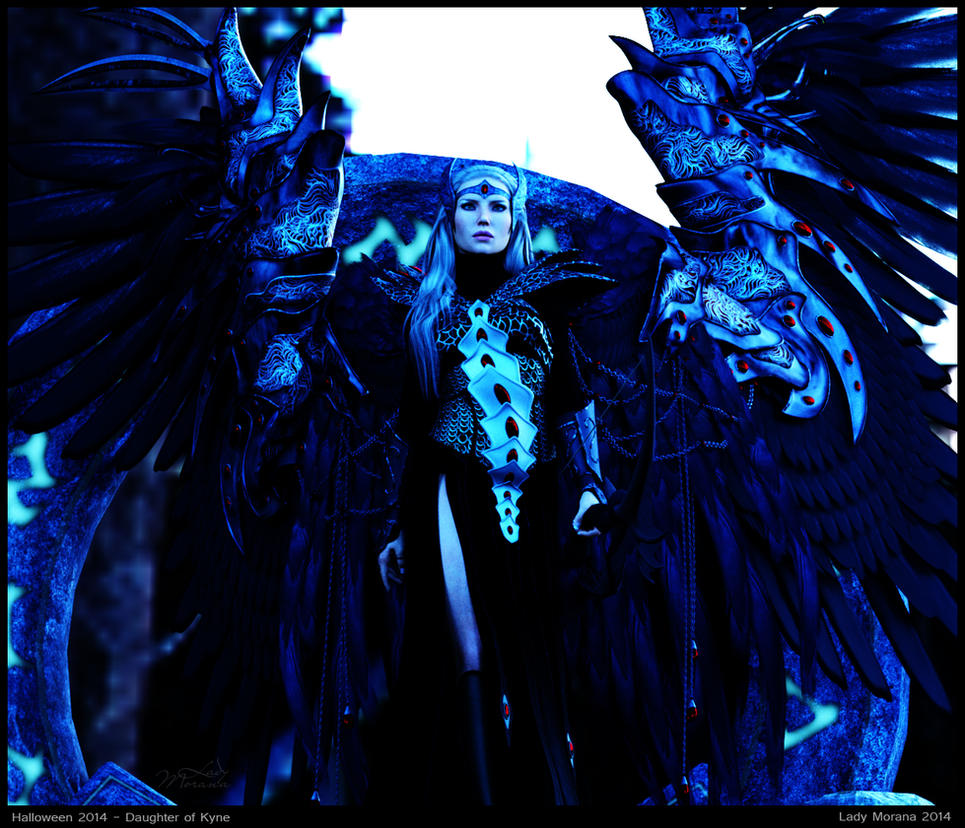 Halloween 2014 - Daughter of Kyne by Lady-Morana