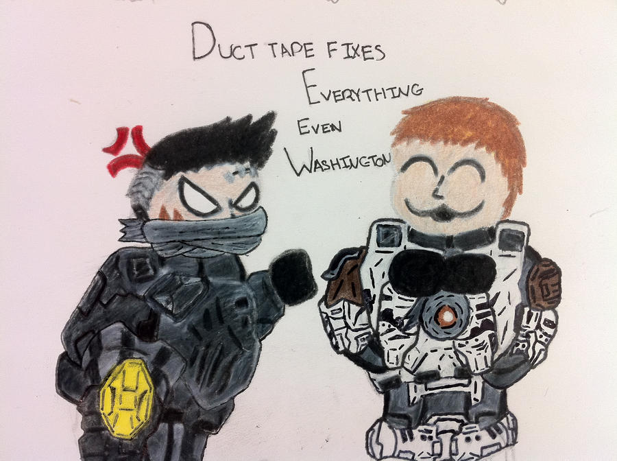 love duct tape. Gotta Love Duct Tape By Drakesoldier067