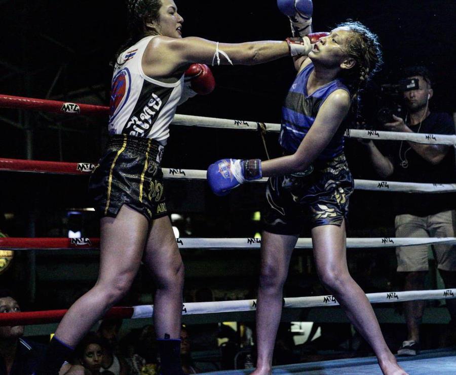 Mia Kang Fight Photo by aubreysurprise on DeviantArt