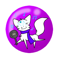 Funny Button: Rainbowstar by catlori9