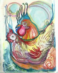chicken by alexiacortez
