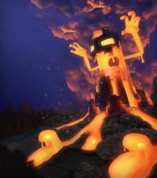 Volcano Creature by LiToKi