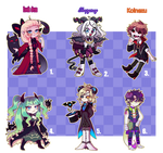 [Adopt collab] Cool ghouls | Open [1/6]