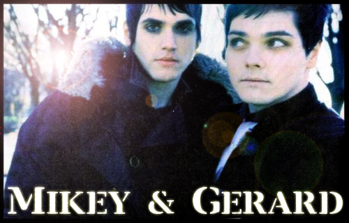 Mikey and Gerard Way by clndstnXcore on DeviantArt