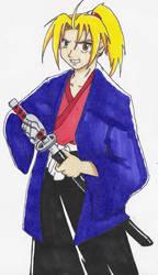 Hagane no Samurai 1 by okamikiba