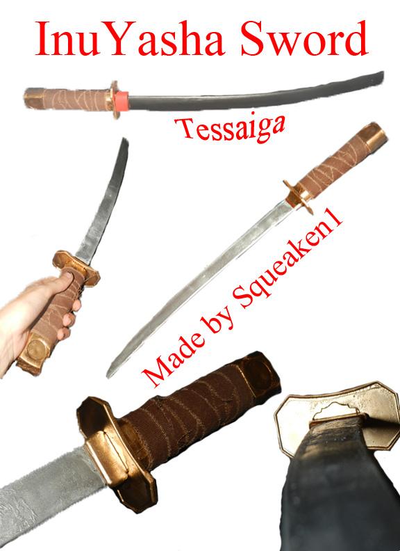 Inuyasha Tessaiga Sword By Squeaken1 On Deviantart