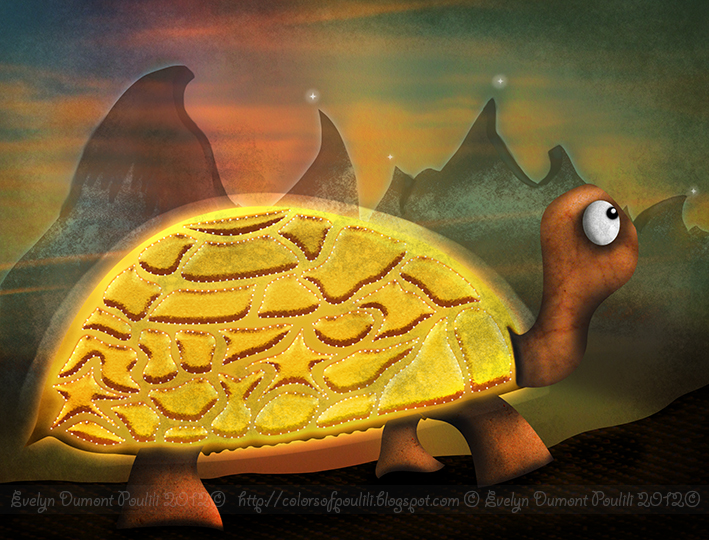 tortue d or by poulili