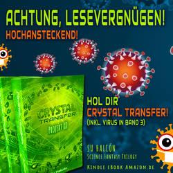 CRYSTAL TRANSFER - hochansteckend! ^^
