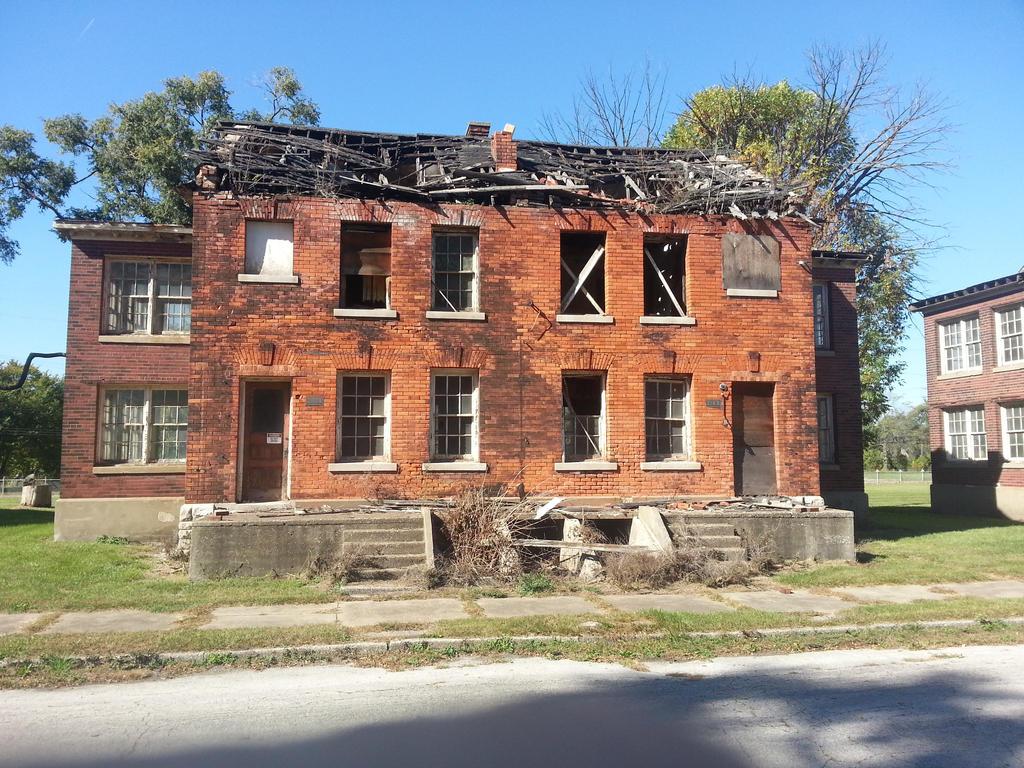 Broken Down House 4 By Komprexx On Deviantart