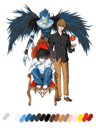 Death Note t-shirt design